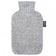 Bouillotte à eau Gris façon tricot 2l - 32 cm