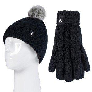 Bonnet + Gants ultra chaud Fille de Heat Holders
