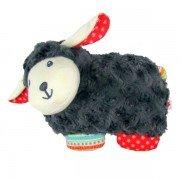 Petite Peluche bouillotte mouton à chauffer a micro-onde, 20cm