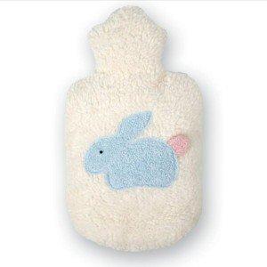 Bouillotte à eau enfant lapin bleu, 0,8l