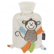 Bouillotte bébé à eau Singe ultra-douce, 0,8l