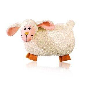 Bouillotte peluche agneau à eau 0,8l