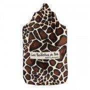 Bouillotte girafe à eau en caoutchouc - 2l
