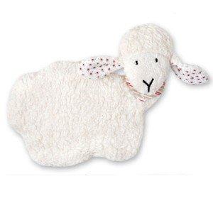 Bouillotte mouton aux noyaux de cerise et coton bio 26 cm
