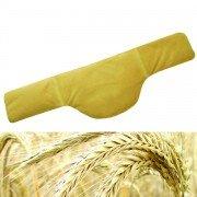 Bouillotte nuque chauffante microfibre 58x16cm en grains de céréales