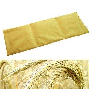 Bandeau chauffant microfibre 55x20cm en graines de céréales