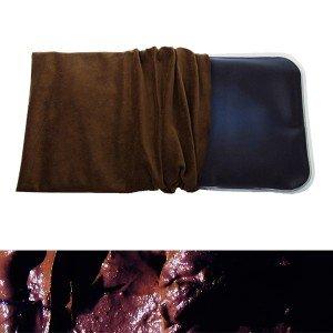 Coussin chauffant boue naturelle thermale, déhoussable - 21x38cm
