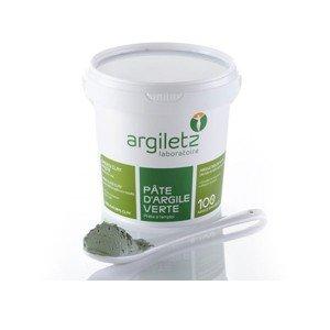 Pâte d'argile verte prête à l'emploi pour masque et cataplasme 1,5Kg, Argiletz