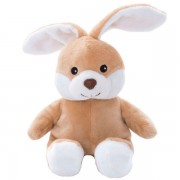 Mini bouillotte peluche lapin marron clair déhoussable micro ondable