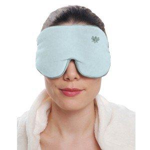 Masque yeux relaxant bleu avec graine de lavande relaxant