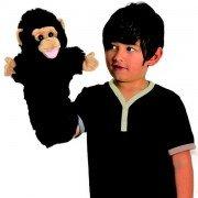 Marionnette à main Chimpanzé avec une longue manche