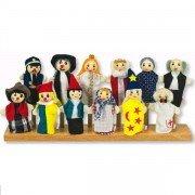 Présentoir / rangement pour marionnettes à doigts