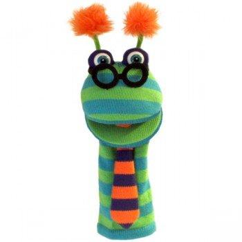 Marionnette chaussettes à bras Binocle 40cm.