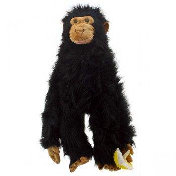 Marionnette Singe Géant et sa banane pour bras avec bouche articulée