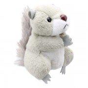 Marionnette à doigts Ecureuil gris 13cm