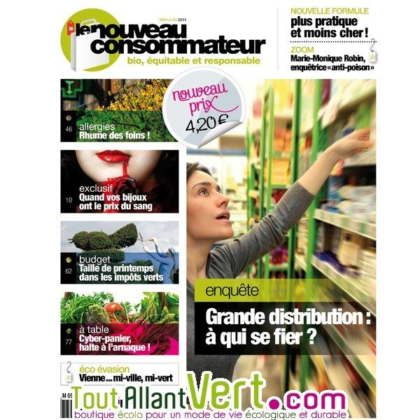 abonnement nouveau consommateur magazine de la consommation responsable achat vente cologique. Black Bedroom Furniture Sets. Home Design Ideas
