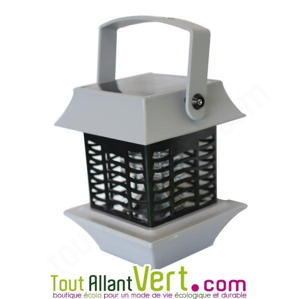 lampe anti moustique solaire lectrocution grille lumi re. Black Bedroom Furniture Sets. Home Design Ideas