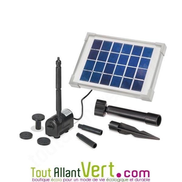 pompe solaire petit bassin riminis 2w sans batterie achat vente cologique acheter sur. Black Bedroom Furniture Sets. Home Design Ideas