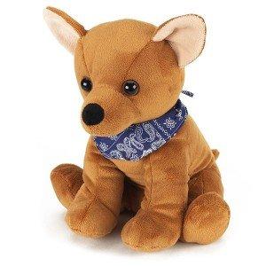 Bouillotte chien Chihuahua à chauffer au micro-onde