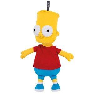 Peluche bouillotte Bart Simpson déhoussable, 32 cm