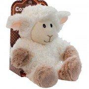 Bouillotte enfant, peluche chauffante Mouton Blanc - 25 cm