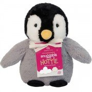 Bouillotte enfant Pingouin avec graine de Tourmaline - 24 cm