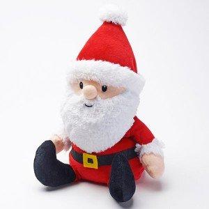 Bouillotte Père Noël pour micro-onde, 30cm