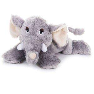 Eléphant peluche chauffante pour micro-ondes
