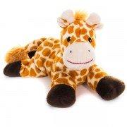 Girafe bouillotte peluche à faire chauffer aux micro-ondes