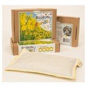 Bouillotte en coton biologique aux graines de colza, 18x25cm