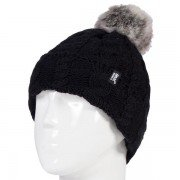 Bonnet ultra chaud femme indice avec pompon 4.7 Heat Holders