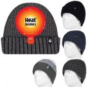 Bonnet Homme ultra chaud avec revers Heat Holders