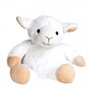 Peluche bouillotte mouton grains de blé et lavande, à chauffer au micro-onde