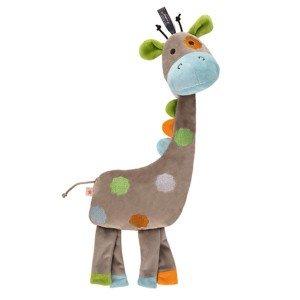 Bouillotte Girafe a long cou à chauffer au micro-ondes, 42 cm