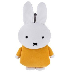 Bouillotte à eau peluche Miffy la lapine, enfant - 0,8l, 38cm
