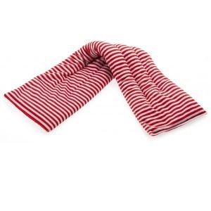 Bandeau chauffant au micro-onde Rayé rouge 60cm