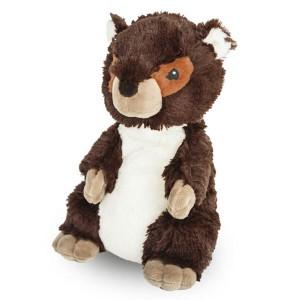 Peluche bouillotte Marmotte à chauffer au micro-onde