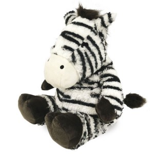 Peluche micro-onde enfant Zebre