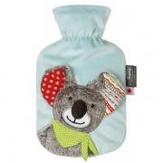 Bouillotte à eau bébé Koala et polaire bleu - 0,8l