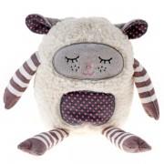 Bouillotte peluche Mouton dormeur à caliner 25 cm