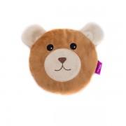 Bouillotte Tête ourson déhoussable , 15 cm