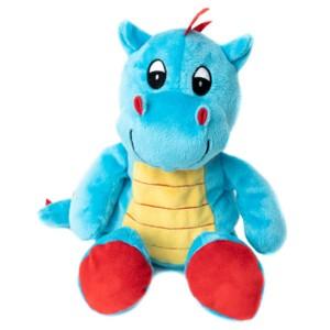 Bébé Dragon bleu bouillotte peluche micro-ondes