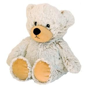 Peluche bouillotte déhoussable ours à chauffer au micro-onde