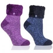 Chaussons Chaussettes avec revers Femme Ultra Chaudes 37-42