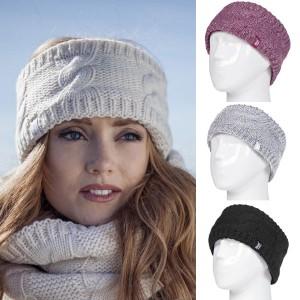 Bandeau chaud hiver pour femme Heat Holders
