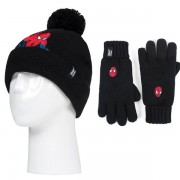Bonnet + Gants ultra-chaud Spiderman 7-10 ans, Heat Holders