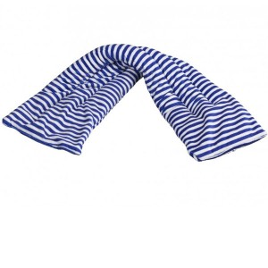 Bandeau chauffant au micro-onde Rayé bleu 60cm