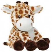 Bouillotte peluche déhoussable Girafe à chauffer au micro-onde