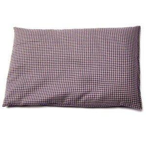 Bouillotte en coton Vichy - grains de colza- 30x20cm