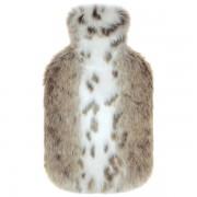 Bouillotte à eau Deluxe Fausse Fourrure Lynx